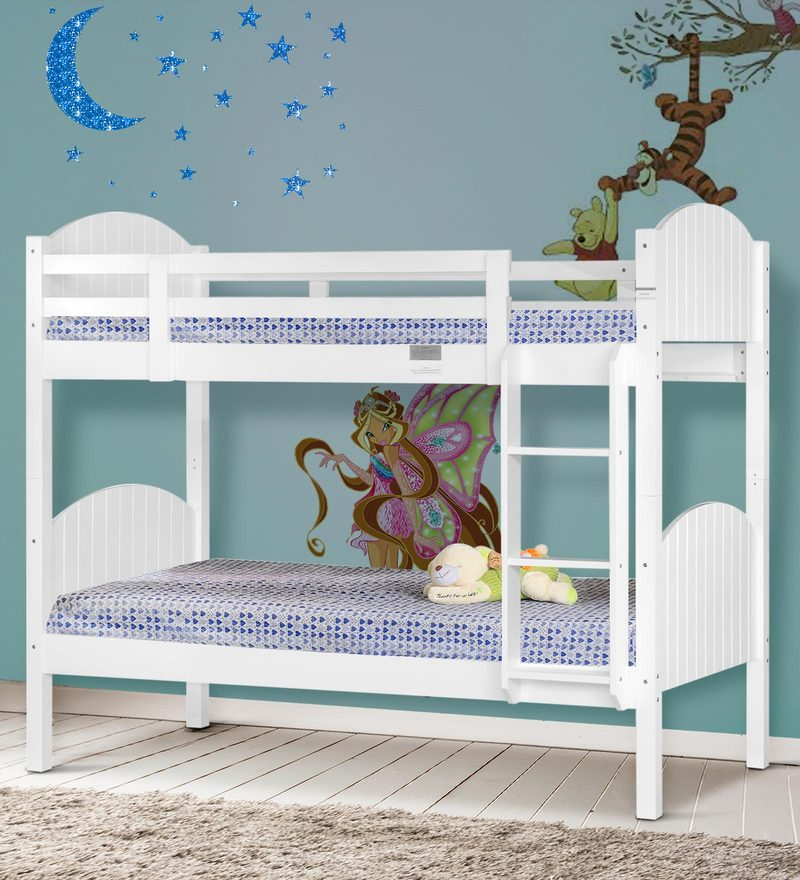 McOwen Bunk Bed in White by Mollycoddle
