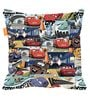 Mc Queen Digital Printed Bean Bag XXL Filled with Beans by Orka(With Small - cushion Inside)