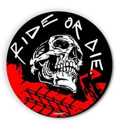 MDF Ride Or Die Fridge Magnet