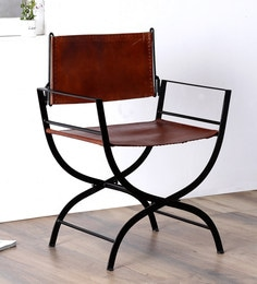 Medina Iron Chair by Bohemiana at pepperfry