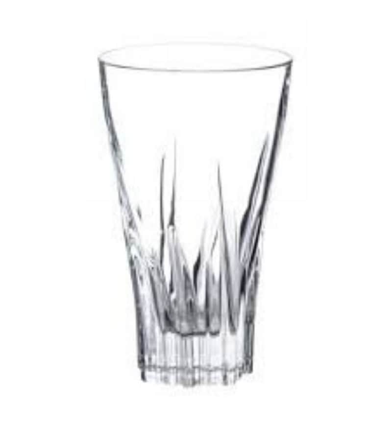 Merahomestore Fluente Glass 400 ML Hi-Ball Tumblers - Set of 6
