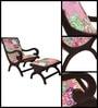 Lorenz Arm Chair in Espresso Walnut Finish by Bohemiana