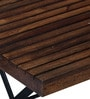Mexico Folding Table in Provincial Teak Finish by Woodsworth