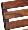 Mexico Folding Bench in Provincial Teak Finish by Bohemiana