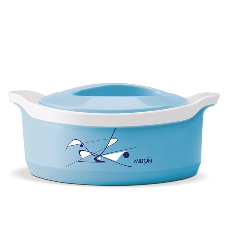 Milton Marvel Blue Insulated Plastic 2500 ML Casserole With Lid