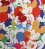 Mickey Mouse Kids Bean Bag with Beans in Multicolour by Orka