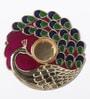 Gupta Glass Gallery Multicolour Metal Tea Light Holder