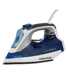 Morphy Richards Super Glide Steam Iron, Ceramic Coated, 2000 W