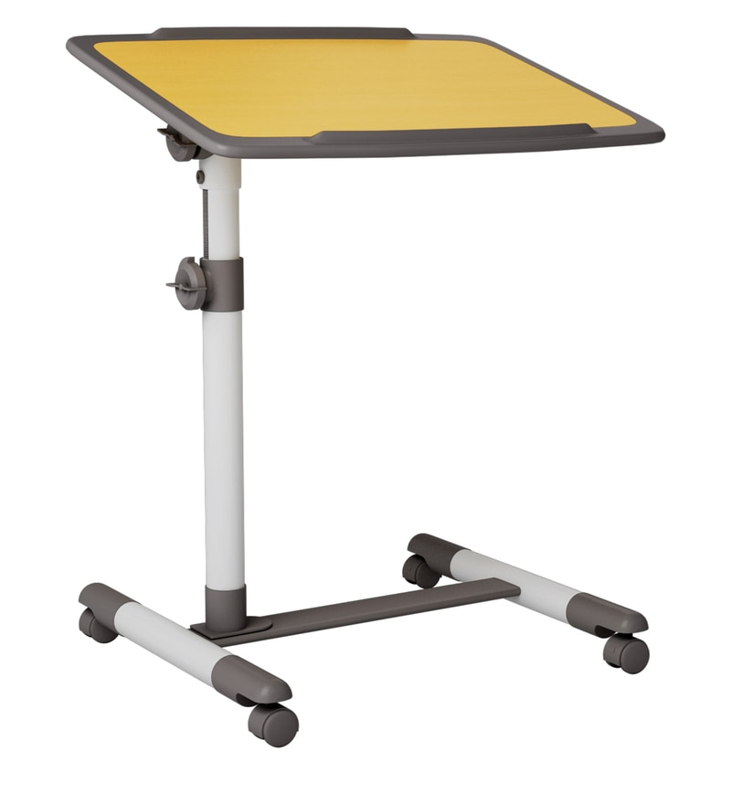 Buy Mobility Laptop Table With Wheels Amp Tiltable Top By
