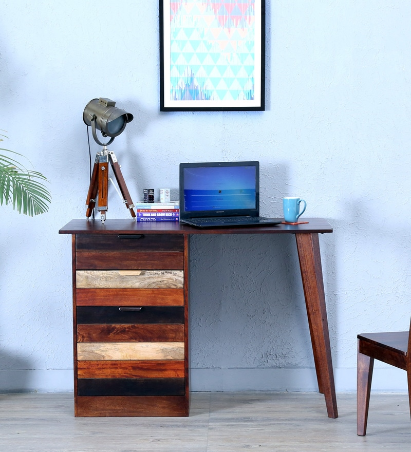 Monet Study & Laptop Table in Dual Tone Finish by Woodsworth