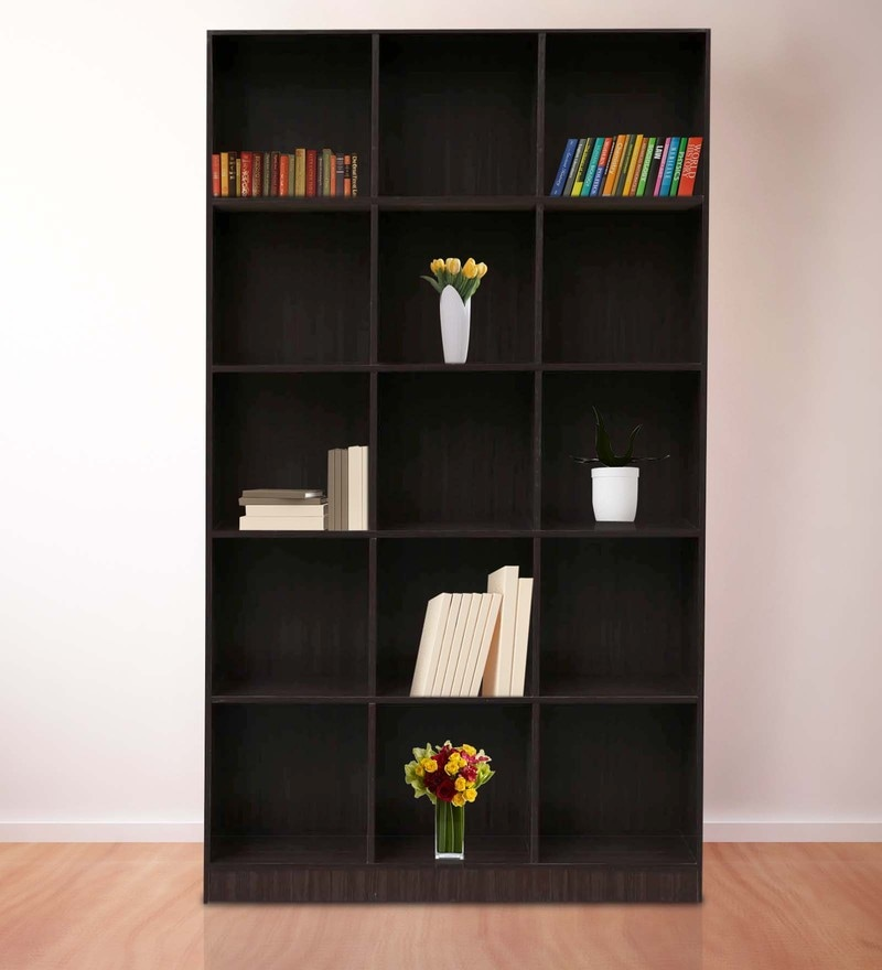 Morie Book Shelf in Light Cappuccino Finish by Mintwud