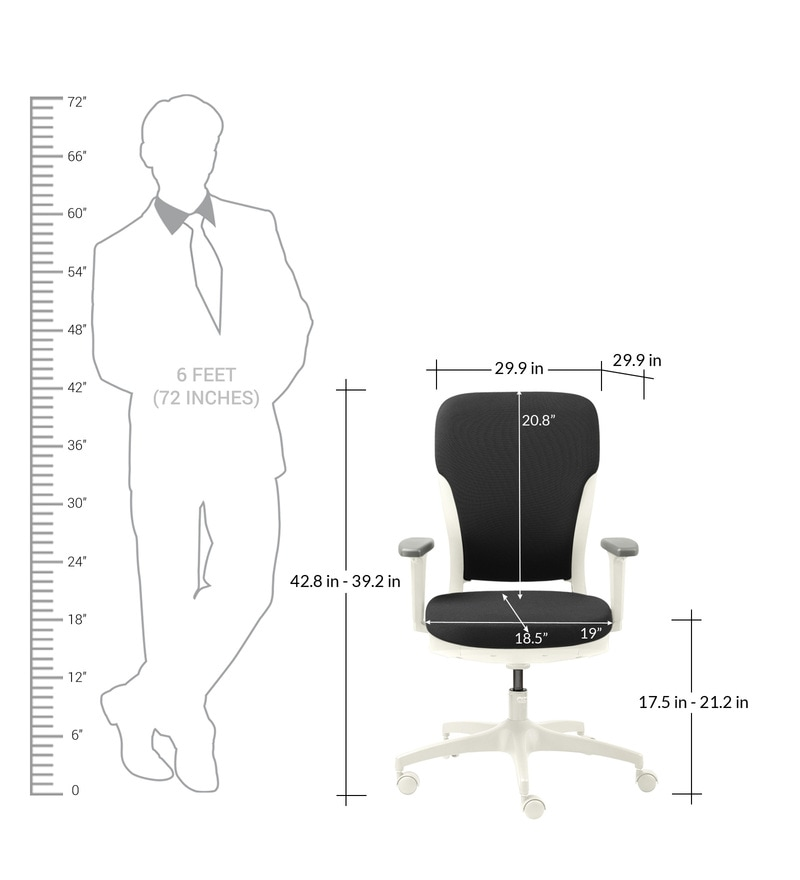 Buy Motion High Back Ergonomic Chair In Charcoal Grey