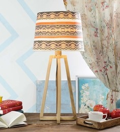 Multicolour Fabric Table Lamp