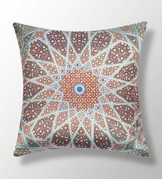 Multicolour Polyester 16x16 Inch Cushion Cover
