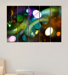 999Store Colorful Lights Multicolour Sun Board Easy to Install Wall Art at pepperfry