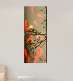999Store Tree Leaves Multiple Frame Wall Art 999Store at pepperfry
