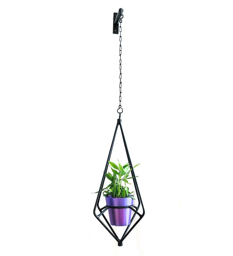 Multicolour Diamond Shape Pot Stand by Pipe Piper