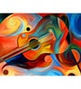 Music Night Engineered Wood 30 x 18 Inch Framed Art Panel by Hashtag Decor
