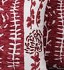 Muslin Multicolour Poly Silk & Wool 16 x 16 Inch Jungle Book Cushion Cover - Set of 2