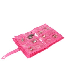 My Gift Booth Plastic Pink Jewellery Organiser