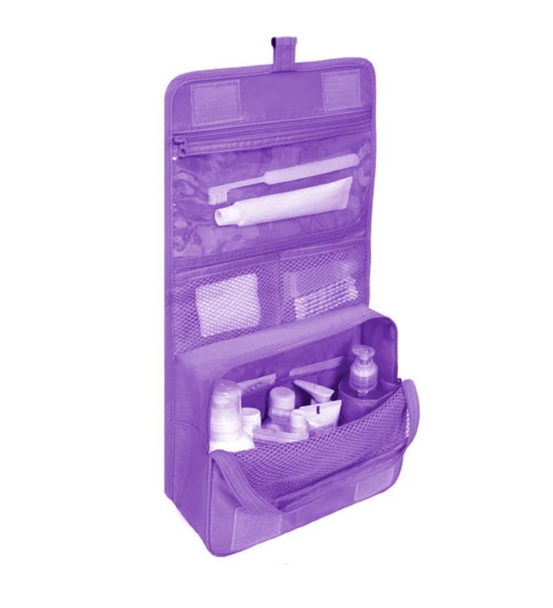 My Gift Booth Nylon Purple Travel Organiser