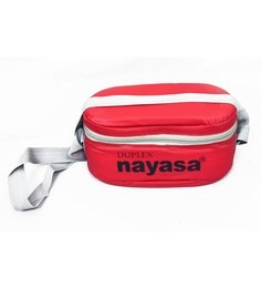 Nayasa Duplex Deluxe Red Plastic & Stainless Steel Lunch Box- Set Of 5