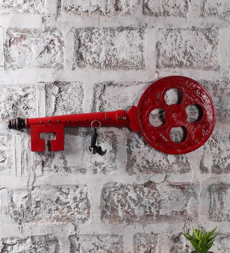 NB Home Interior  Red MDF  Key Holder
