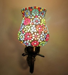 Multicolour Abstract Antique Wall Light