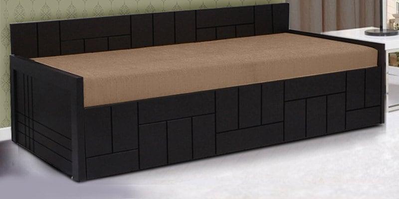 Nelson Sofa cum Bed in Brown Colour by Auspicious Home