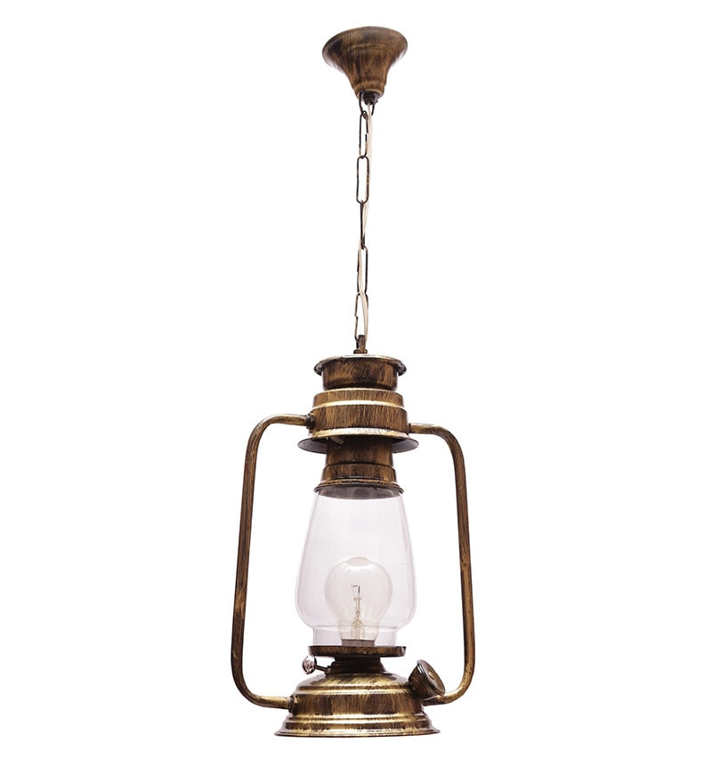 Metal Festive Lantern by New Era