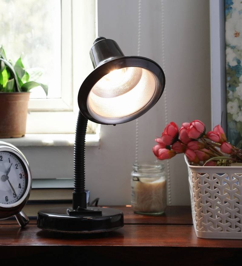 Black Iron Desk Lamp by New Era