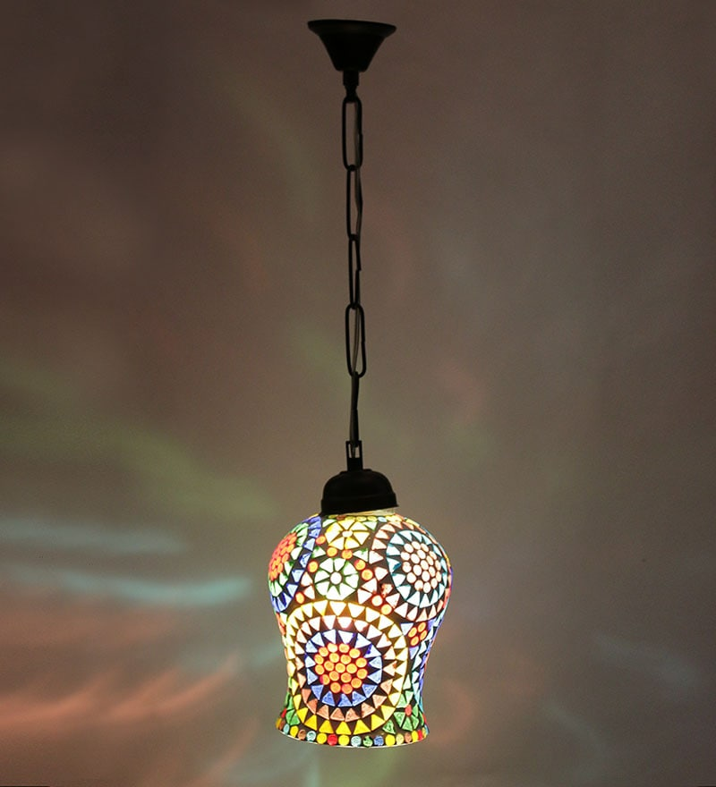 Multicolor Glass Pendant by New Era