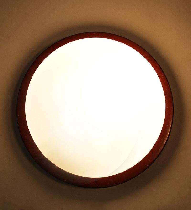 Off White Flush Mounted Light by New Era