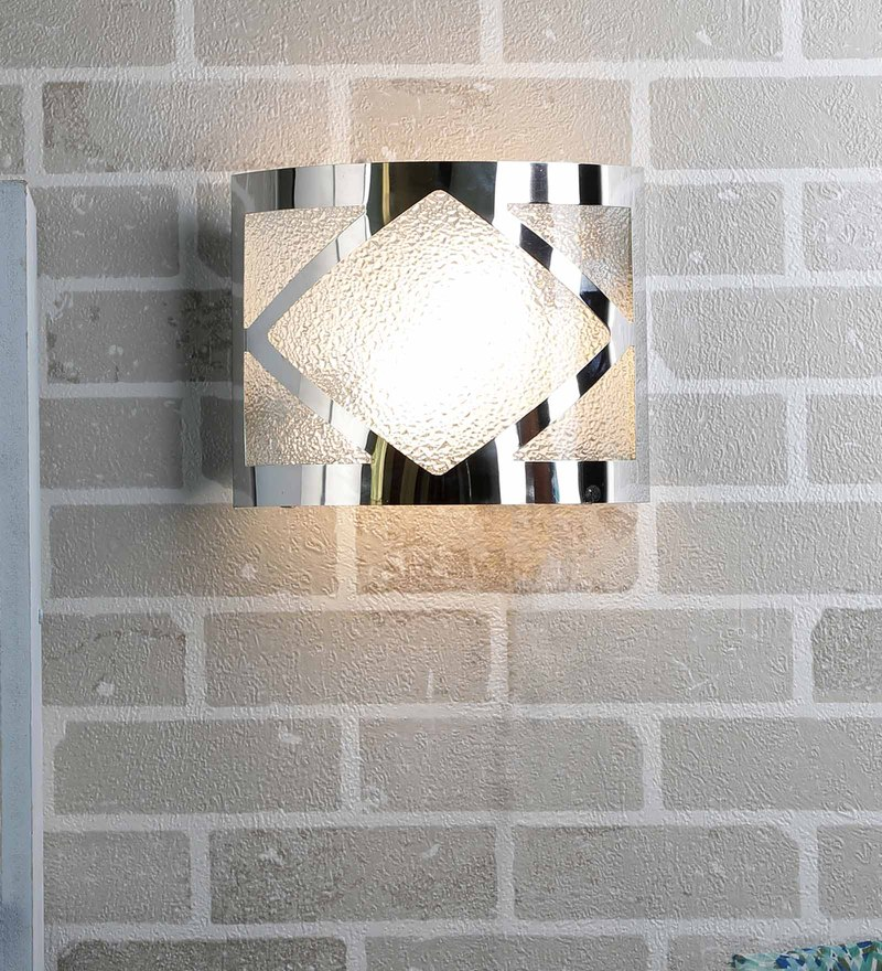 Silver Steel Wall Mounted by New Era