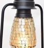 New Era Beige Glass Lantern