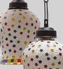 Multicolor Glass Hanging Light by New Era