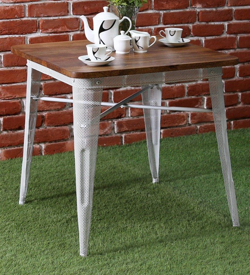 Buy Cantung Charkha Dining Table by Bohemiana Online - Four