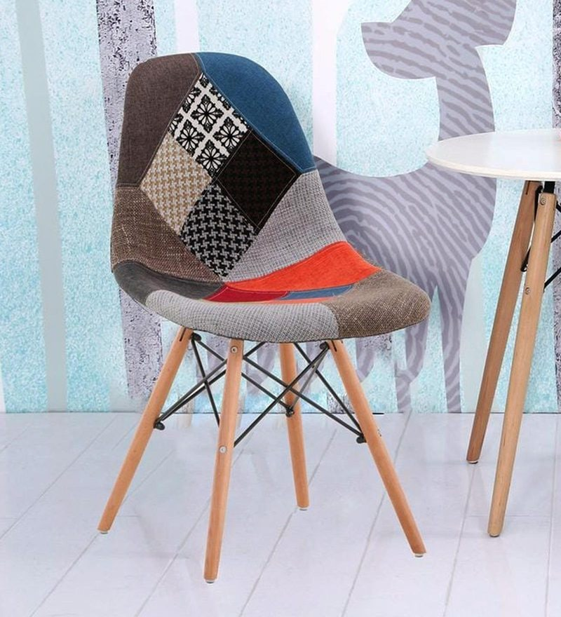 Nico Accent Chair in Multicolour by Bohemiana