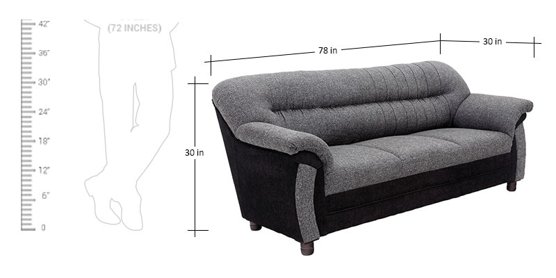 Buy Northwest 3 2 Seater Sofa Set By Looking Good