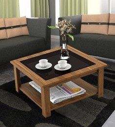 Superbe Oberon Coffee Table In Natural Teak Finish