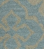 Blue Wool 60 x 96 Inch Gallore Carpet by Obeetee