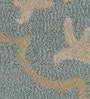 Mineral Blue Wool 60 x 96 Inch Victoria Carpet by Obeetee