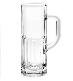 Ocean Berliner Glass 365 ML Beer Mugs - Set Of 6