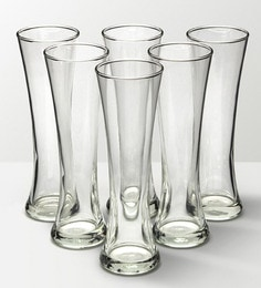 Ocean Imperial Glass 350 ML Beer Mugs - Set Of 6