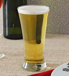 Ocean Pilsner Glass 300 ML Beer Mugs - Set Of 6