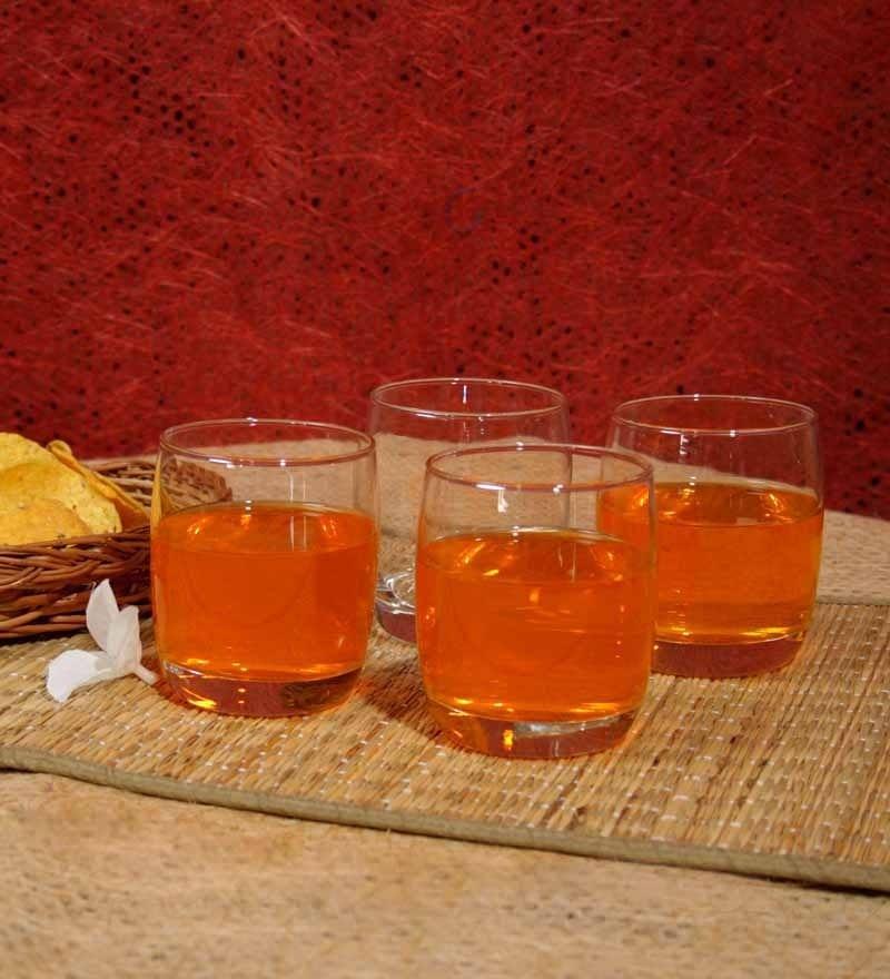 Ocean Ivory Rock Water Glass 265 ml - Set Of 6