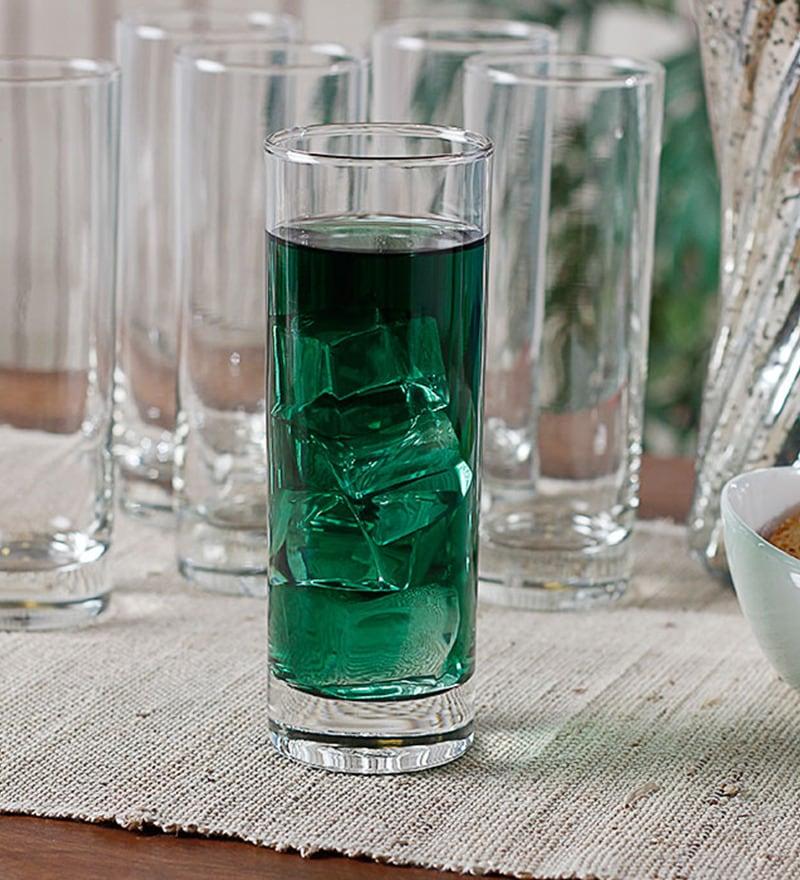Ocean New York 340 ml Highball Glasses - Set of 6
