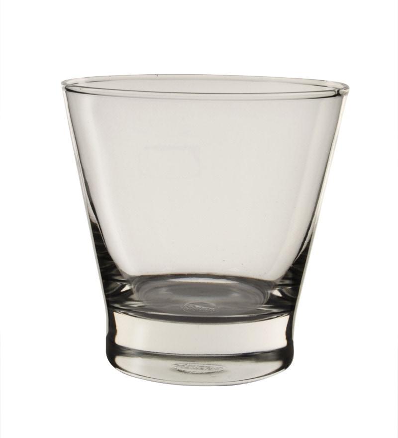 Buy Glass 345 Ml Whiskey Glasses Set Of 6 Online Whisky
