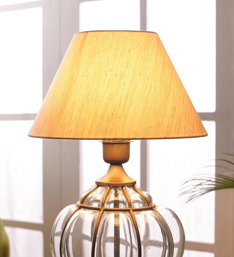 Off White Cotton Lamp Shade By Foziq