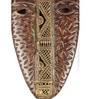 Olha-O Brown Wood & Metal Mask Frame
